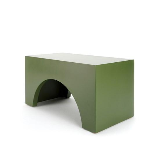 Tabouret STEP - vert - Design : Murmull