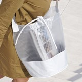 Cylindrical Carrier Bag - White 4