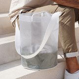 Cylindrical Carrier Bag - Green 4