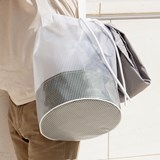 Cylindrical Carrier Bag - Green 3