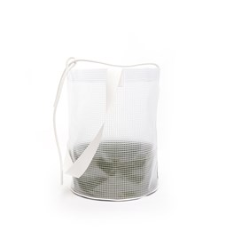Cylindrical Carrier Bag - Green