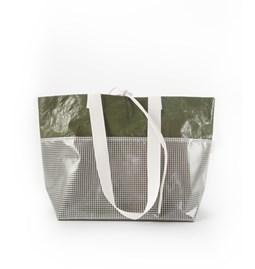 Rectangular Carrier Bag - Green