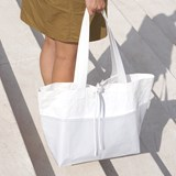Rectangular Carrier BAG - White 3