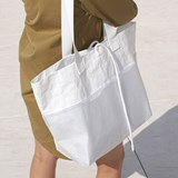 Rectangular Carrier BAG - White 4