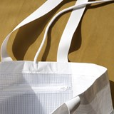 Rectangular Carrier BAG - White 5