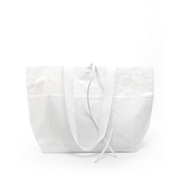 Rectangular Carrier BAG - White
