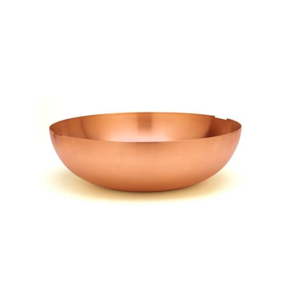 Saladier en cuivre C1 - Design : Grace Souky