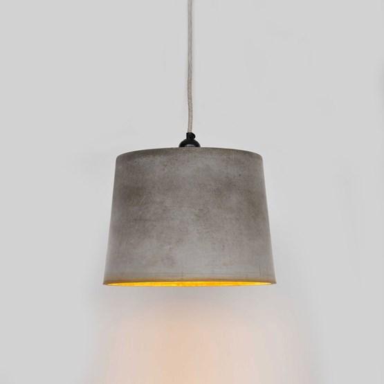 INDUSTRIAL pendant light with Rust Coloured Rim - Design : Tim Walker Studio