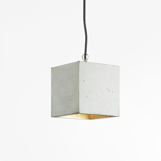 Pendant light CUBIC - grey - Design : GANTlights