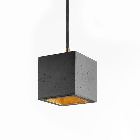 Pendant light CUBIC - dark grey - Design : GANTlights