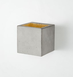 Wall light CUBIC - grey
