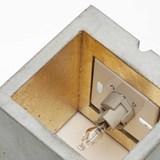 Wall light CUBIC - grey 6