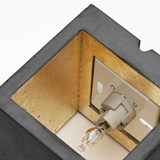 Wall light CUBIC - dark grey 6