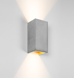 Rectangular Wall Light [B8] - grey