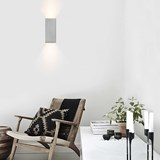 Rectangular Wall Light [B8] - grey 6