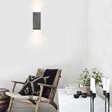 Rectangular Wall Light [B8] - dark grey  6