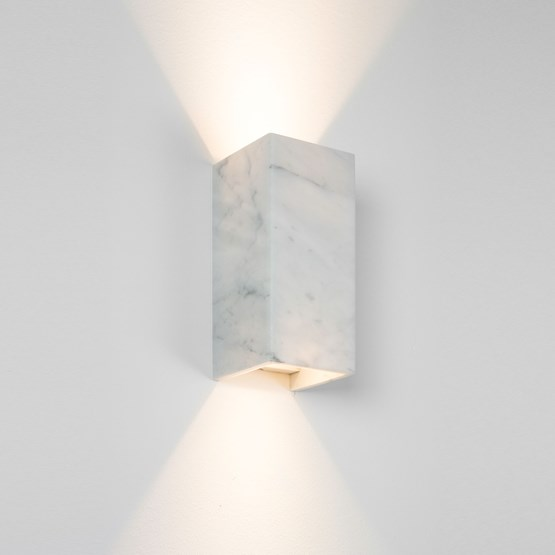 Rectangular Wall Light [B8]carrara - marble - Design : GANTlights