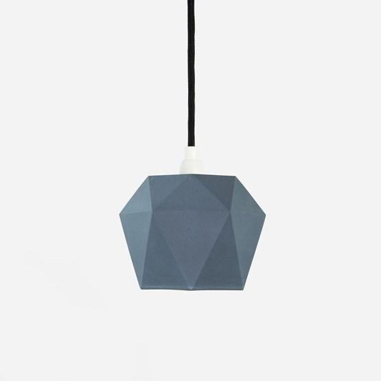 Suspension triangle [K1]jeans - porcelaine bleue - Design : GANTlights