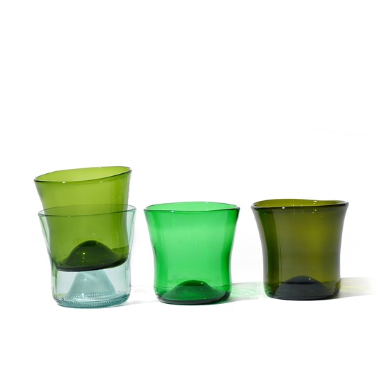 Ensemble de verres N°6 - set de 4 - Design : SAMESAME