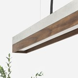 Rectangular Pendant Light [C]nut  7
