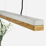Suspension rectangulaire [C]oak - chêne 5