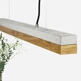 Rectangular Pendant Light [C]oak 5