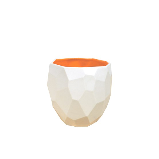 POLIGON Coffee Cup - orange - Design : Studio Lorier