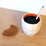 POLIGON Coffee Cup - orange 6