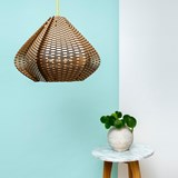 LUCIE wooden pendant light, small model 3