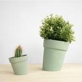 DISTORT Flowerpot - green 6