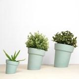 DISTORT Flowerpot - green 5