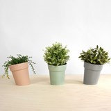 DISTORT Flowerpot - grey 4
