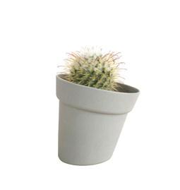 Pot de fleur DISTORT - gris