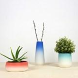 FLOWERTOP flowerpot - blue 2
