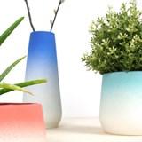 FLOWERTOP flowerpot - blue 3
