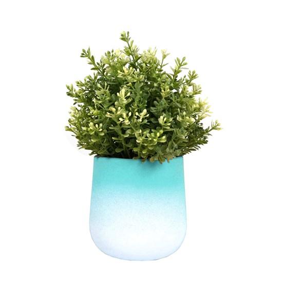 Pot de fleur FLOWERTOP - vert  - Design : Studio Lorier