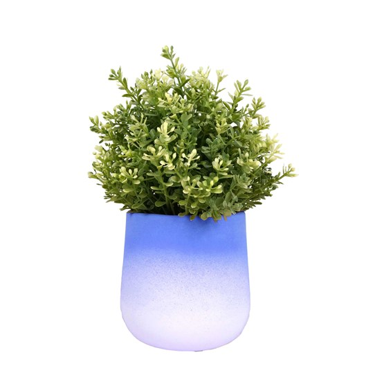 FLOWERTOP flowerpot - blue - Design : Studio Lorier