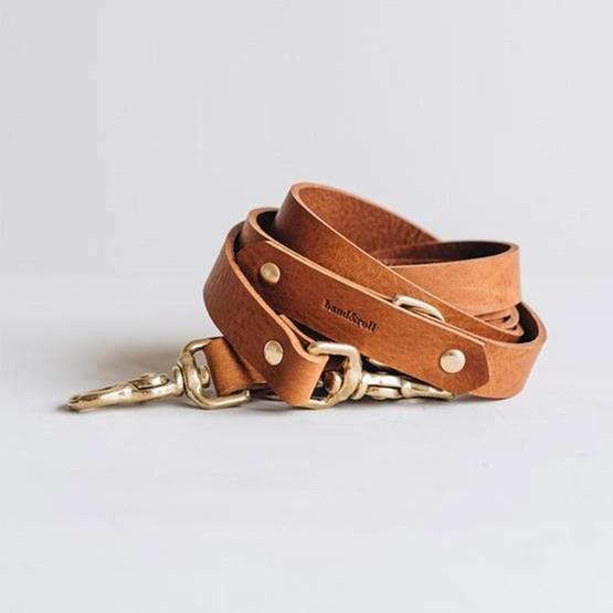 Laisse pour chien en cuir LASSO  - Design : Band&roll