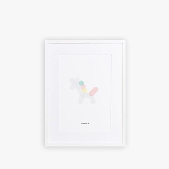 Poster LICORNE - Design : Maison Deux
