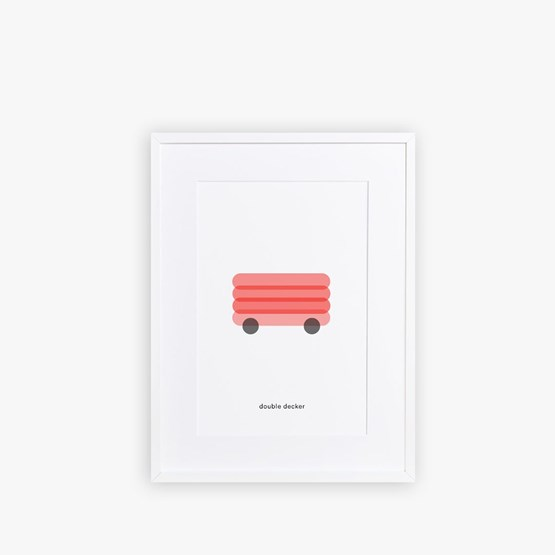 Poster LONDON BUS - Design : Maison Deux