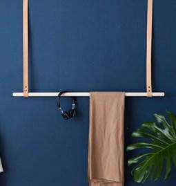 ALBMI Leather Hanger