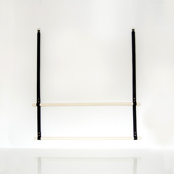 ALBMI Leather Hanger - black - Design : Gedigo Piece Of Finland