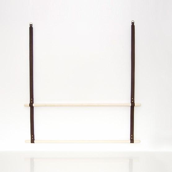 Portant en cuir ALBMI - brun - Design : Gedigo Piece Of Finland