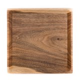 OSTE square board - walnut wood in warm tones 7