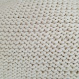 PEAR Knitted woolen bag - white 4