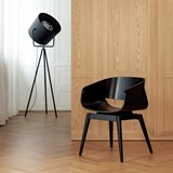Fauteuil 4th ARMCHAIR COLOR - noir 6