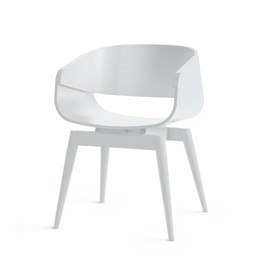 Fauteuil 4th ARMCHAIR COLOR - blanc