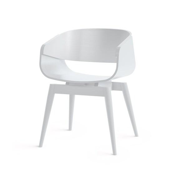 Fauteuil 4th ARMCHAIR COLOR - blanc - Design : Almost