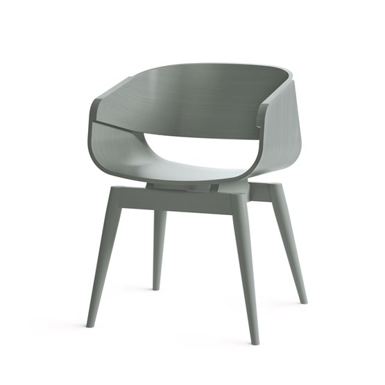 Fauteuil 4th ARMCHAIR COLOR - gris - Design : Almost
