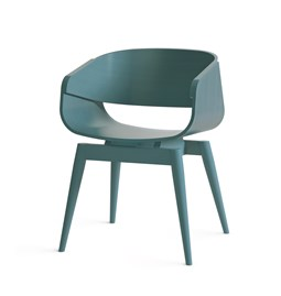 Fauteuil 4th ARMCHAIR COLOR - bleu